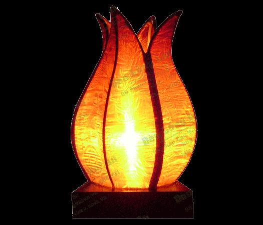 Đèn trung thu - Đèn hoa sen búp